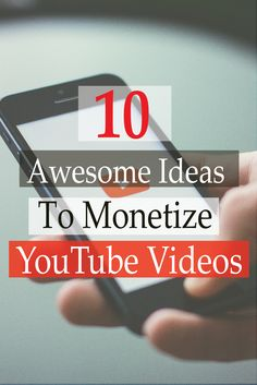 Check awesome ideas to make money with YouTube. #YouTube #MakeMoneyOnline #VideoBlogging #vlog