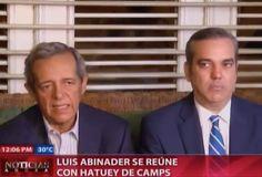 Luis Abinader Se Reune Con Hatuey De Camps Se Reunieron Para La Formación De Una Oposición Contra El PLD #Video