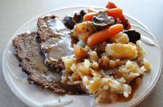 Easy Crockpot Roast recipe