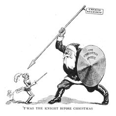 §§§ : 'T Was the Knight Before Christmas : Paul Reilly : 1925