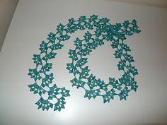 Ravelry: Leafy Lacey Scarf pattern by Anette Bak Crochet Fish Patterns, Crochet Chart, Knit Crochet, Crochet Ideas, Scarf Patterns, Free Crochet, Crochet Leaves, Crochet Accessories, Crochet Projects
