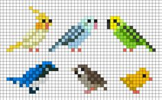 Birds Nintendo Badge Arcade by Hippocratessocrates on Kandi Patterns