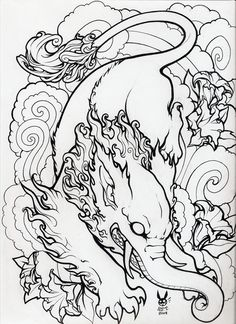 baku lineart by hiraistrange on DeviantArt