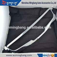 for 2013 2015 Nissan Qashqai Exterior Accessories High quality ABS chrome car front grille moulding trim trims bar