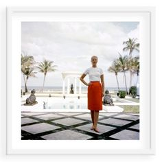 Check out this item at One Kings Lane! Slim Aarons, Mrs. F.C. Winston Guest