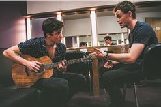 Shawn and James