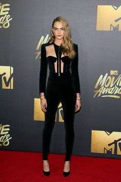 Way Before Suicide Squad, Cara Delevingne Was a Superhero on the Red Carpet
