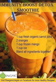 Healthy Juice Recipes, Healthy Detox, Healthy Juices, Detox Recipes, Healthy Smoothies, Healthy Drinks, Healthy Eating, Easy Detox, Vegan Detox