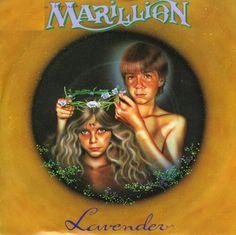 "Cover art Marillion single ""Lavender"""