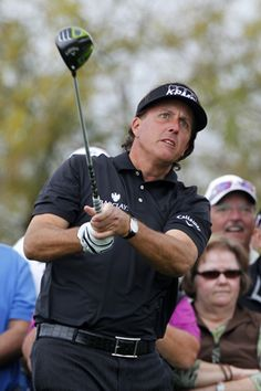 Phil Mickelson's winning Callaway golf clubs at the 2013 Phoenix Open