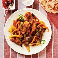 25 Healthy Chicken Breast Recipes | Marinating: Chicken Fajitas | CookingLight.com