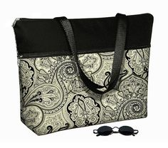 Laptop Tote Bag padded case fits up to 17 by janinekingdesigns, $89.99