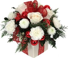 Canada Flowers > Christmas Flowers > Arrangements > The Christmas ...