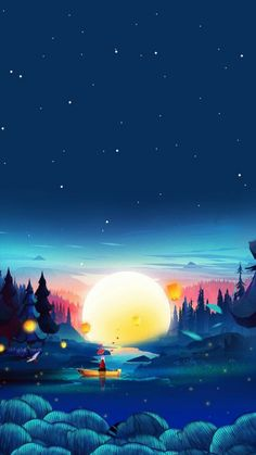 Nice view - Wallpaper World View Wallpaper, Anime Scenery Wallpaper, Landscape Wallpaper, Cute Wallpaper Backgrounds, Galaxy Wallpaper, Nice Wallpapers, Wallpaper Hd For Desktop, Black Wallpaper, Lockscreen Wallpaper Android