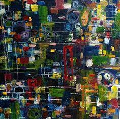 """City.""  oil on canvas"