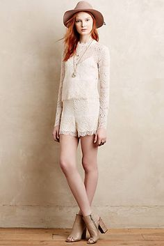 0d713d096f1a Layered Lace Romper Bachelorette Outfits