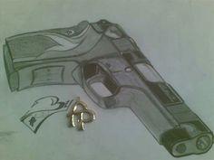 9mm gun designed by F.Phaladi