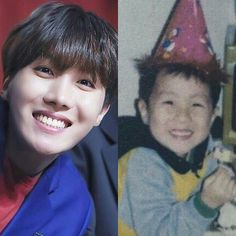 he looks exactly the same. IM WEAK WHAT A CUTIE~