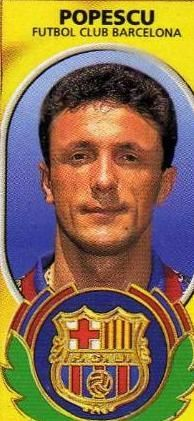 Gheorghe Popescu former captain of FC Barcelona and key part of the Romania national team in the 1990s. | Barca 1995 - 1997