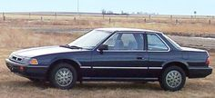 1984 Honda Prelude. Mine was a very nice gray.