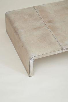 Parchment Table - Jean Michel Frank (detail)