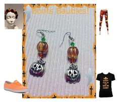 """""""http://boots-baubles-jewelry.myshopify.com/products/pumpkin-spice-earrings"""" by rita-waters-boots on Polyvore featuring Keds"""