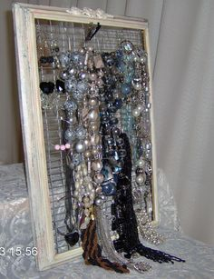 My wall jewelry hanger