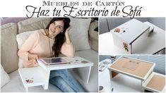 Muebles de Cartón | Como hacer un Escritorio de Sofá de Cartón