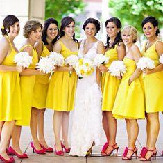 Yellow Prom Dress,Knee Length Prom Dress,Fashion Bridesmaid Dress,Sexy Party Dress, New Style Evening Dress
