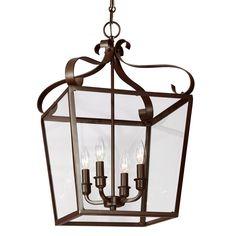 Southern Hospitality Hanging Lantern