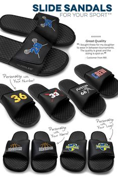 fbae378f9d25 Our customizable slide-ins are the perfect season staple. Give your feet a  break