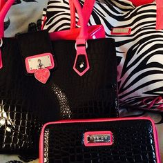 lipsy london purse and clutch