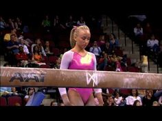 ▶ Nastia Liukin - Balance Beam - 2008 Visa Championships - Day 1 - YouTube