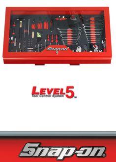 "Snap On Level 5 Visual Tool Box 49""."
