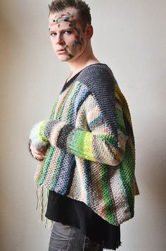 Ravelry: Amazing Technicolor Dreamsweater pattern by Stephen West