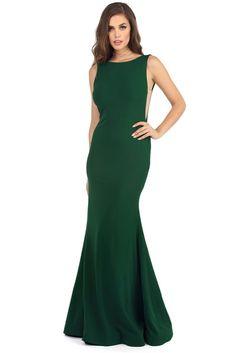 409b467401 FINAL SALE - Zara Emerald Backless Beauty Dress