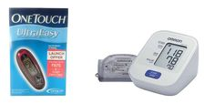 One Touch Ultra Easy Glucometer (25 Strips Free) & Omron BP Monitor Combo- Save 35%  Shop now: http://www.buydirekt.com/one-touch-ultra-easy-glucometer-25-strips-free-omron-bp-monitor-combo