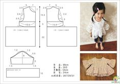 Sewing Patterns For Baby Girls Fabrics Ideas Kids Dress Patterns, Baby Clothes Patterns, Sewing Patterns For Kids, Sewing For Kids, Baby Sewing, Baby Patterns, Clothing Patterns, Sewing Dress, Sewing Clothes