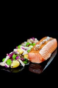 Maple Soy Cured Sous Vide Salmon Belly #sousvide
