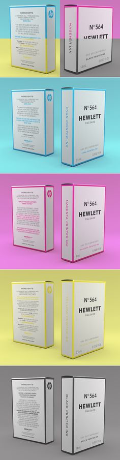 Student: Hewlett Packard - N°564 — The Dieline | Packaging & Branding Design & Innovation News