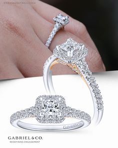 Details about  /1.66ct Cushion Round Cut Engagement Bridal Accent Solitaire Ring 14k Rose Gold