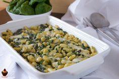 Si è fatto tardi per il pranzo e avete bisogno di una ricetta veloce ma sfiziosa? Provate la pasta con spinaci e taleggio, si prepara in 20 minuti!