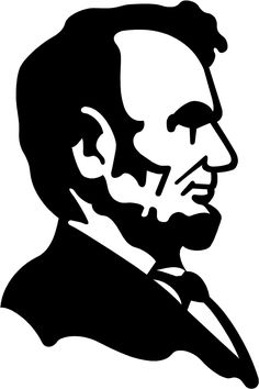 "$2.5 - Abe Lincoln President Decal 3.75""X2.5"" Choose Color! Vinyl Sticker A2 #ebay #Home & Garden"