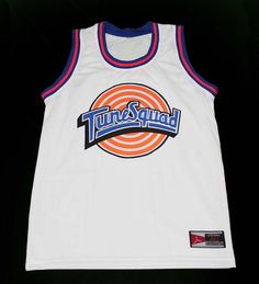 a2f68553f9b Bugs bunny tune squad space jam movie basketball jersey new sewn any size