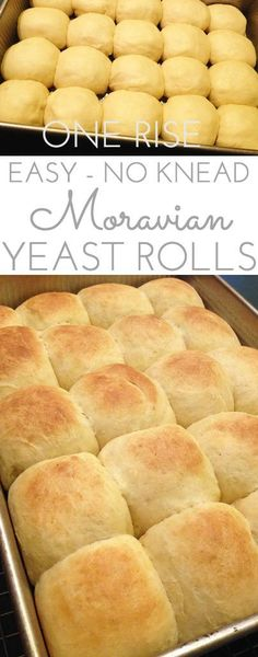 Love these pillowy Moravian Yeast Rolls, hot and fresh from the oven. Split 'em in half, melt a pat of butter in between. These yeast rolls are divine. No knead. One rise. You can do this!!!