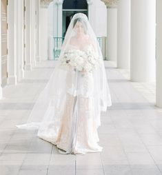 The Best Places To Buy Bridal Veils | OneFabDay.com Lace Veils, Bridal Veils, Drop Veil, Cathedral Wedding Veils, Short Veil, Bride Portrait, Ethereal Beauty, Gown Photos, Wedding Looks