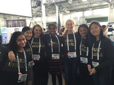 #BUILTBYGIRLS Challenge finalists and judges at TechCrunch Disrupt…