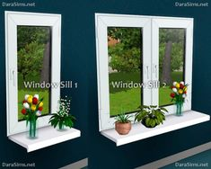 Flower Stands & Sills by Dara Sims for Sims 3