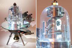 Dark Roasted Blend: Chrome-delicious Robot Art & Ray Guns
