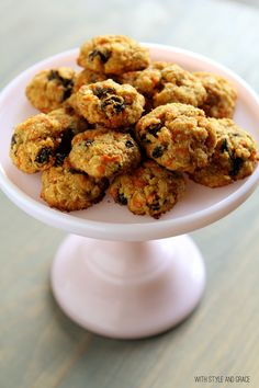 Healthy Carrot Cake Chippers